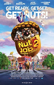 Now Showing: <b>                                        									    										 									 The Nut Job 2: Nutty by the Nature</b>