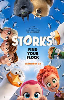 Now Showing: <b>                                             Storks</b>