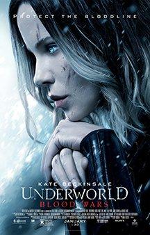 Now Showing: <b>                                             Underworld: Blood Wars</b>