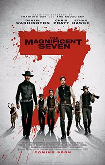 Now Showing: <b>                                             The Magnificent Seven</b>