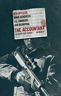 Now Showing: <b>                                             The Accountant</b>