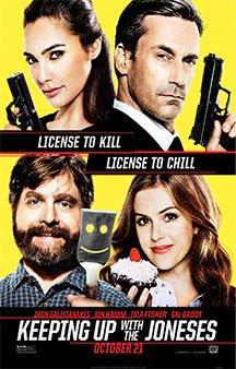Now Showing: <b>                                             Keeping Up with the Joneses</b>