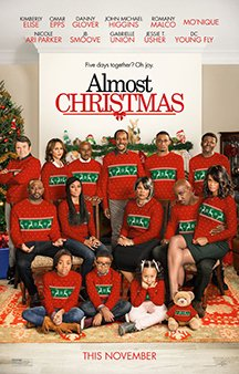 Now Showing: <b>                                             Almost Christmas</b>