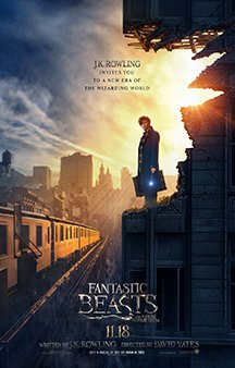 Now Showing: <b>                                             Fantastic Beasts and Where to Find Them</b>