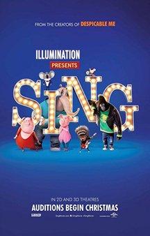Now Showing: <b>                                             Sing</b>
