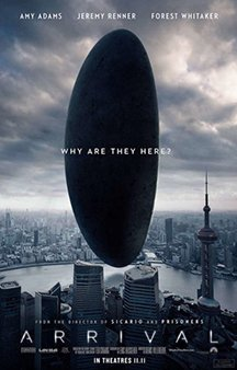 Now Showing: <b>                                             Arrival</b>