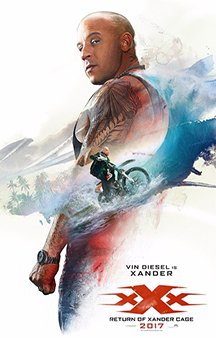 Now Showing: <b>                                             xXx: Return of Xander Cage</b>