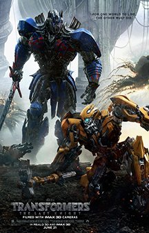 Now Showing: <b>                                              Transformers: The Last Knight</b>