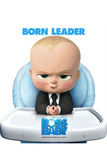 Now Showing: <b>                                              The Boss Baby</b>