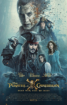 Now Showing: <b>                                              Pirates of the Caribbean: Dead Men Tell No Tales</b>