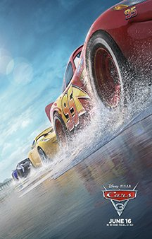 Now Showing: <b>                                              Cars 3</b>