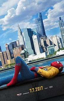 Now Showing: <b>                                              Spider-Man: Homecoming</b>