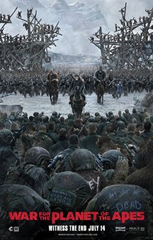 Now Showing: <b>                                              War For The Planet Of The Apes</b>