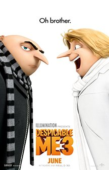 Now Showing: <b>                                              Despicable Me 3</b>