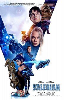Now Showing: <b>                                              Valerian and the City of a Thousand Planets</b>