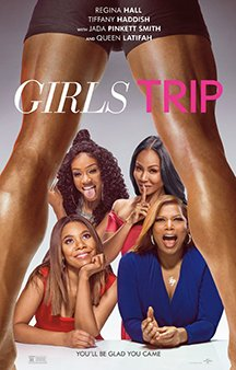 Now Showing: <b>                                              Girls Trip</b>